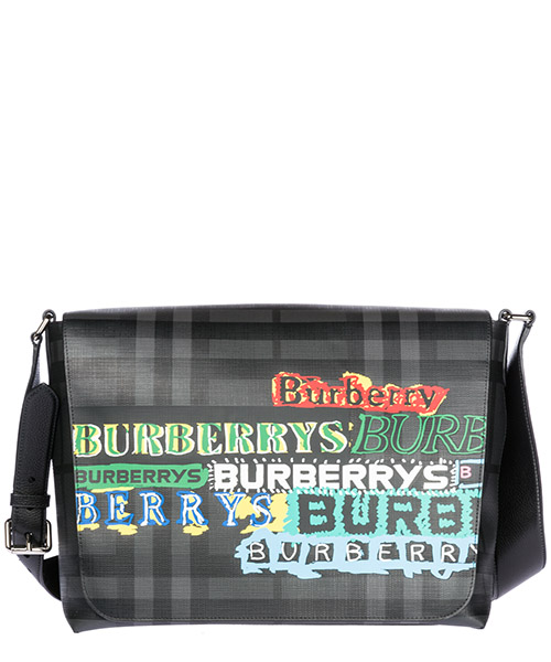 Borsa a tracolla Burberry 40749981 charcoal