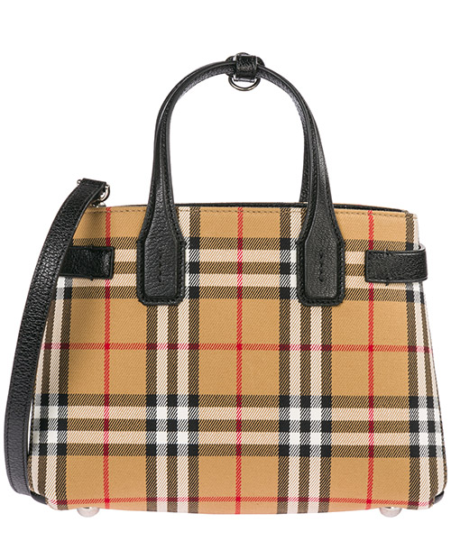 Sac à main Burberry Banner 40769481 black