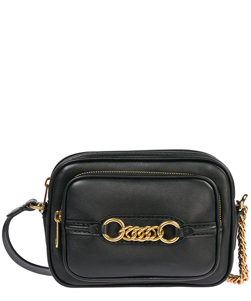 Women's leather cross-body messenger shoulder bag the link