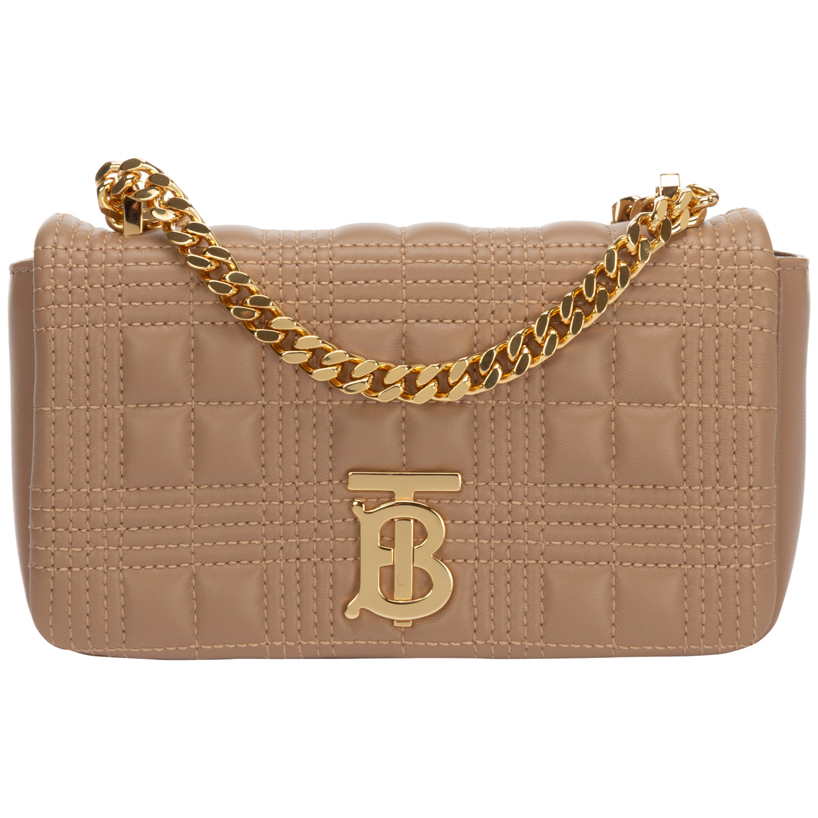 BURBERRY WOMEN'S LEATHER SHOULDER BAG LOLA