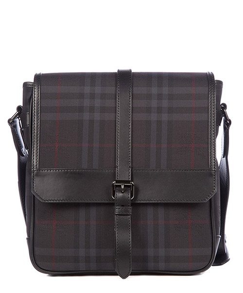 Crossbody bag Burberry Horseferry Check 39454501 nero