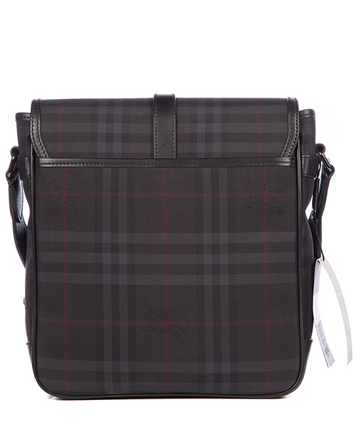 Men's cross-body messenger shoulder bag  horseferry check secondary image