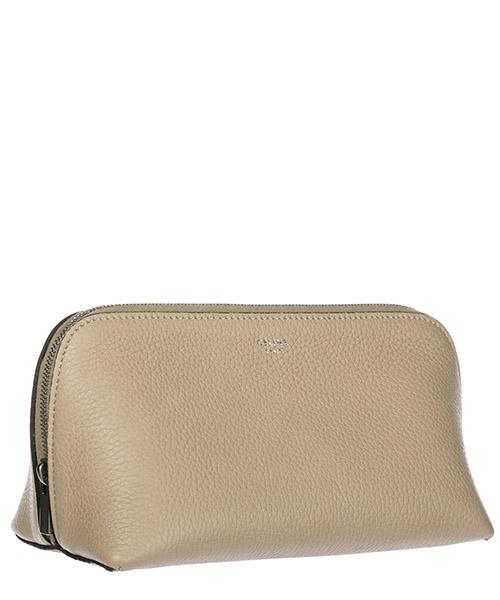 Beauty case viaggio porta trucchi donna pelle secondary image