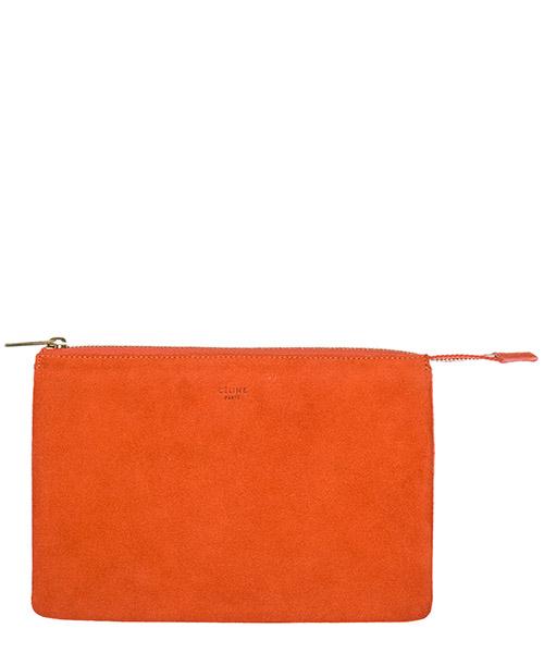 Clutch bags Céline 102253RTS25FO arancio