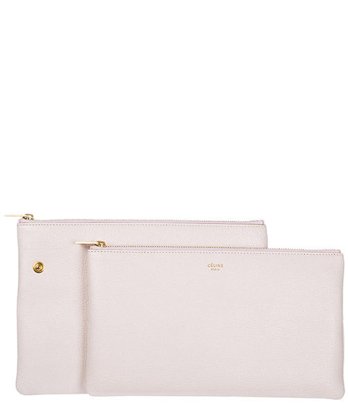 Pochette a mano donna in pelle secondary image