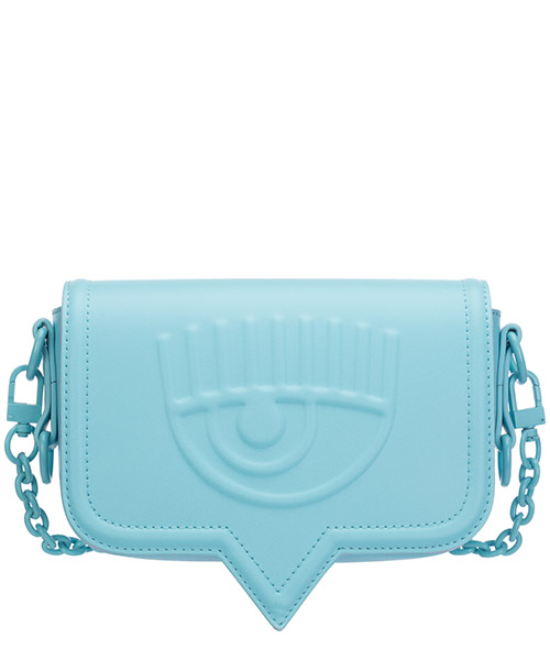 Schultertasche Chiara Ferragni eyelike 20ai-cfpt006 baby blue