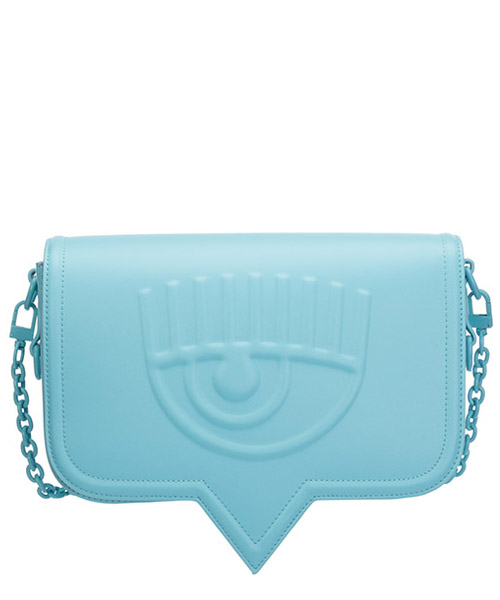 Schultertasche Chiara Ferragni eyelike 20ai-cfpt008 baby blue