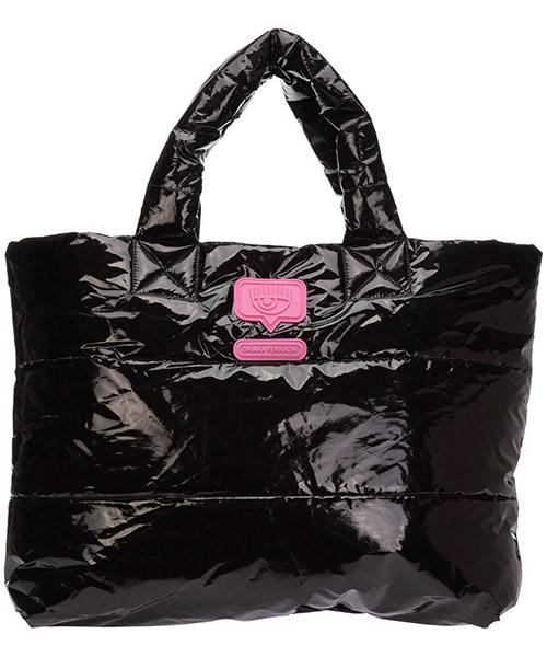 Handtaschen Chiara Ferragni eyelike cfbag001nero nero