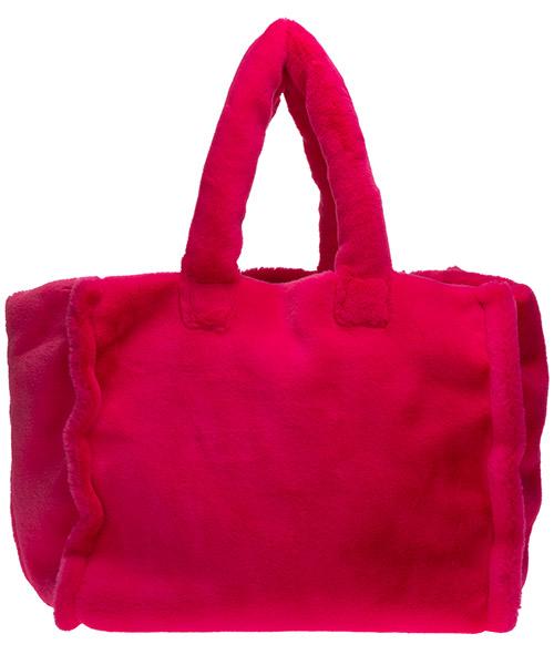 Handtasche damen tasche damenhandtasche bag  eco fur eyelike secondary image