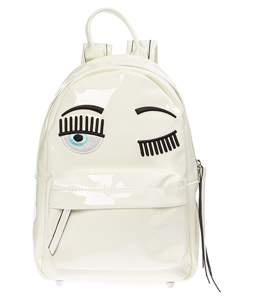 Backpack Chiara Ferragni flirting CFZ056 BIANCO