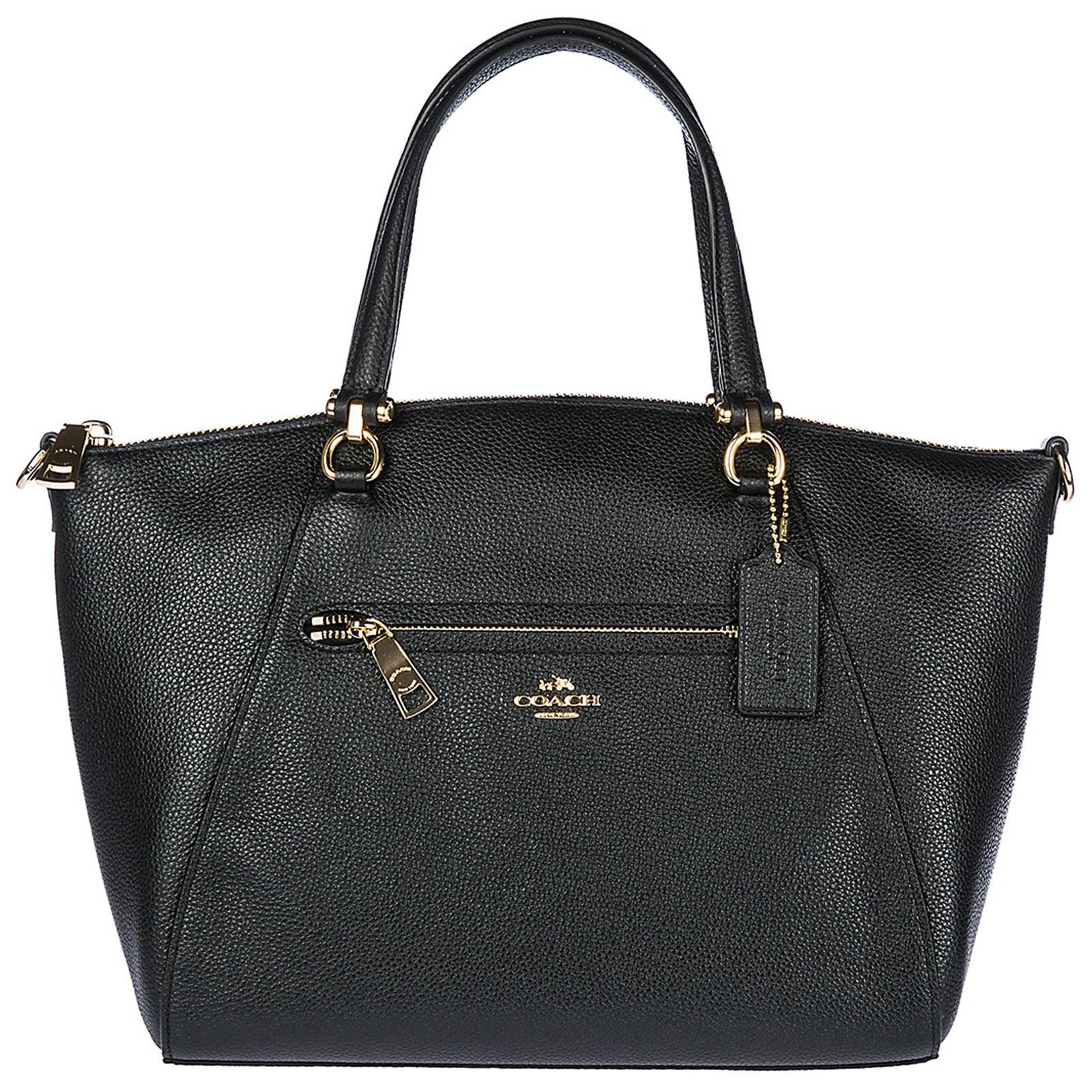 Borsa donna a mano shopping in pelle prairie satchel