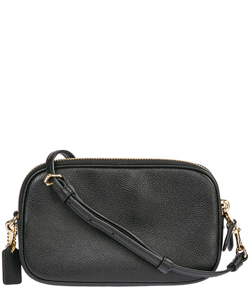 Women's leather cross-body messenger shoulder bag sadie secondary image