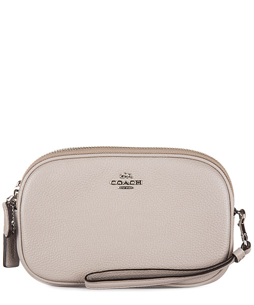 Clutch bag Coach 65547 sv grey birch