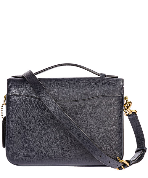 Women's leather cross-body messenger shoulder bag cassie secondary image