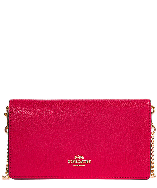 Суппорт Coach 72160 GDOQZ gold / bright cerry
