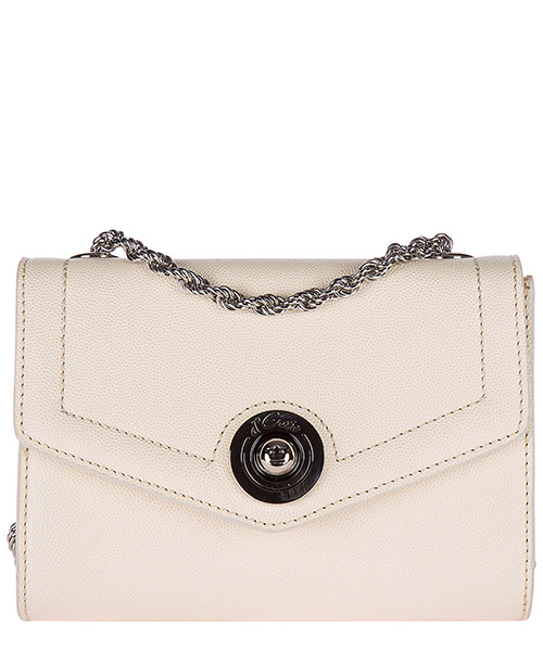 Clutch bag d'Este ANTIBES bianco