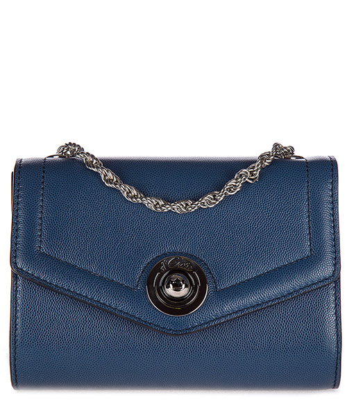 Clutch bag d'Este ANTIBES blu