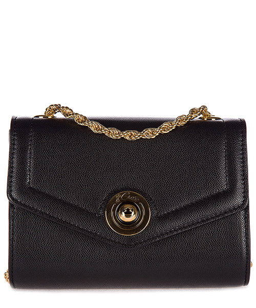Clutch bag d'Este ANTIBES nero