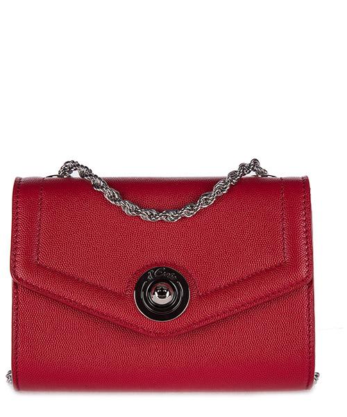 Clutch bag d'Este ANTIBES rosso