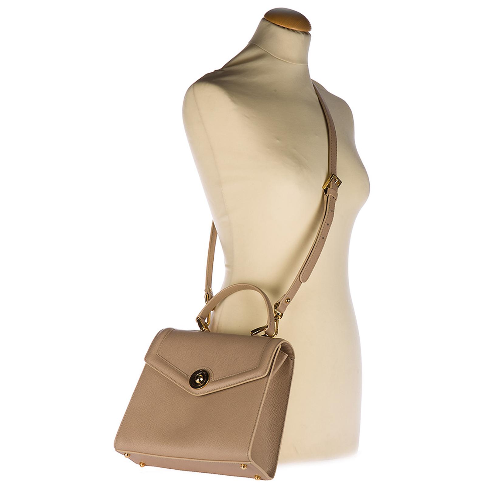 Bolso de mano para compras en piel mujer monaco