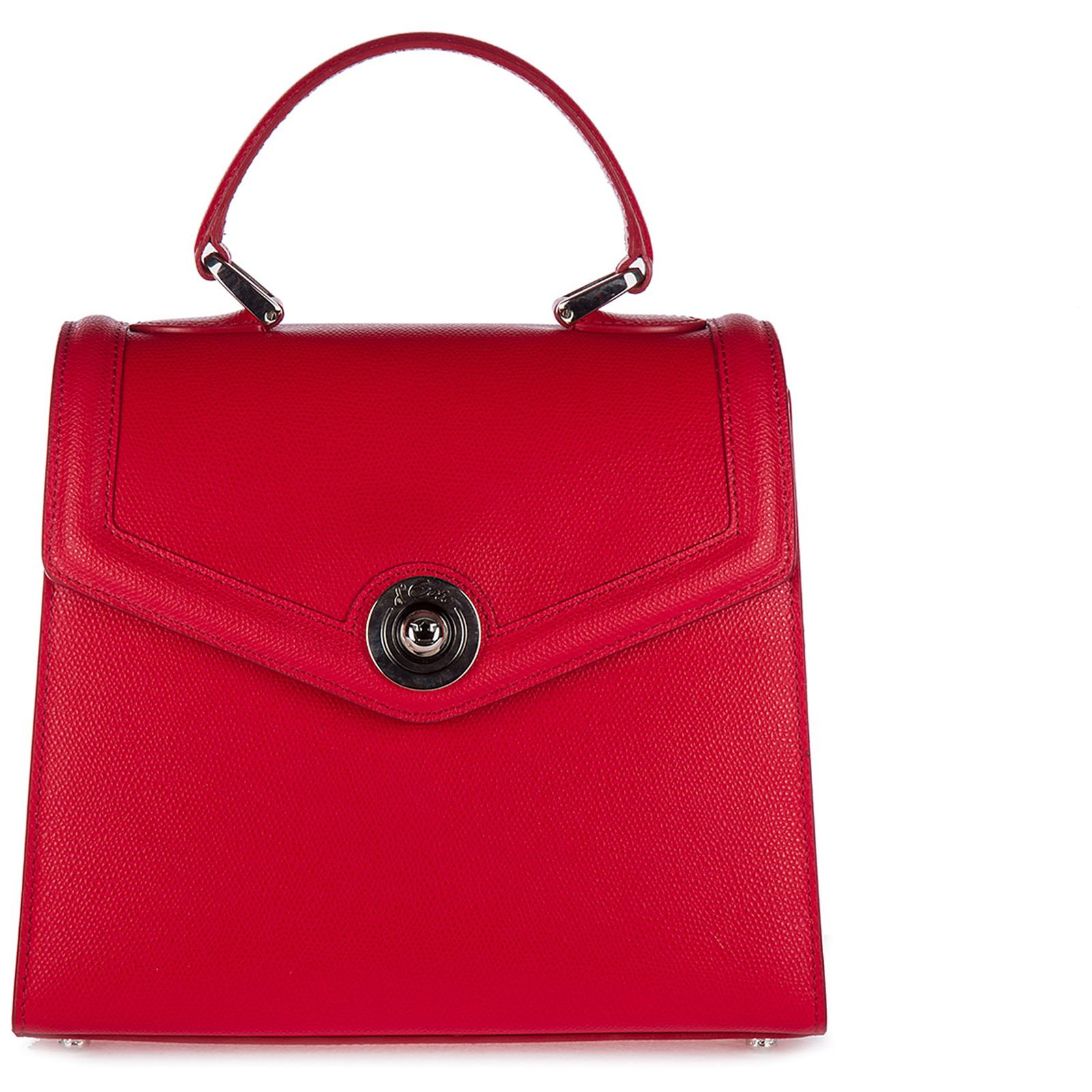 Leder handtasche damen tasche bag monaco