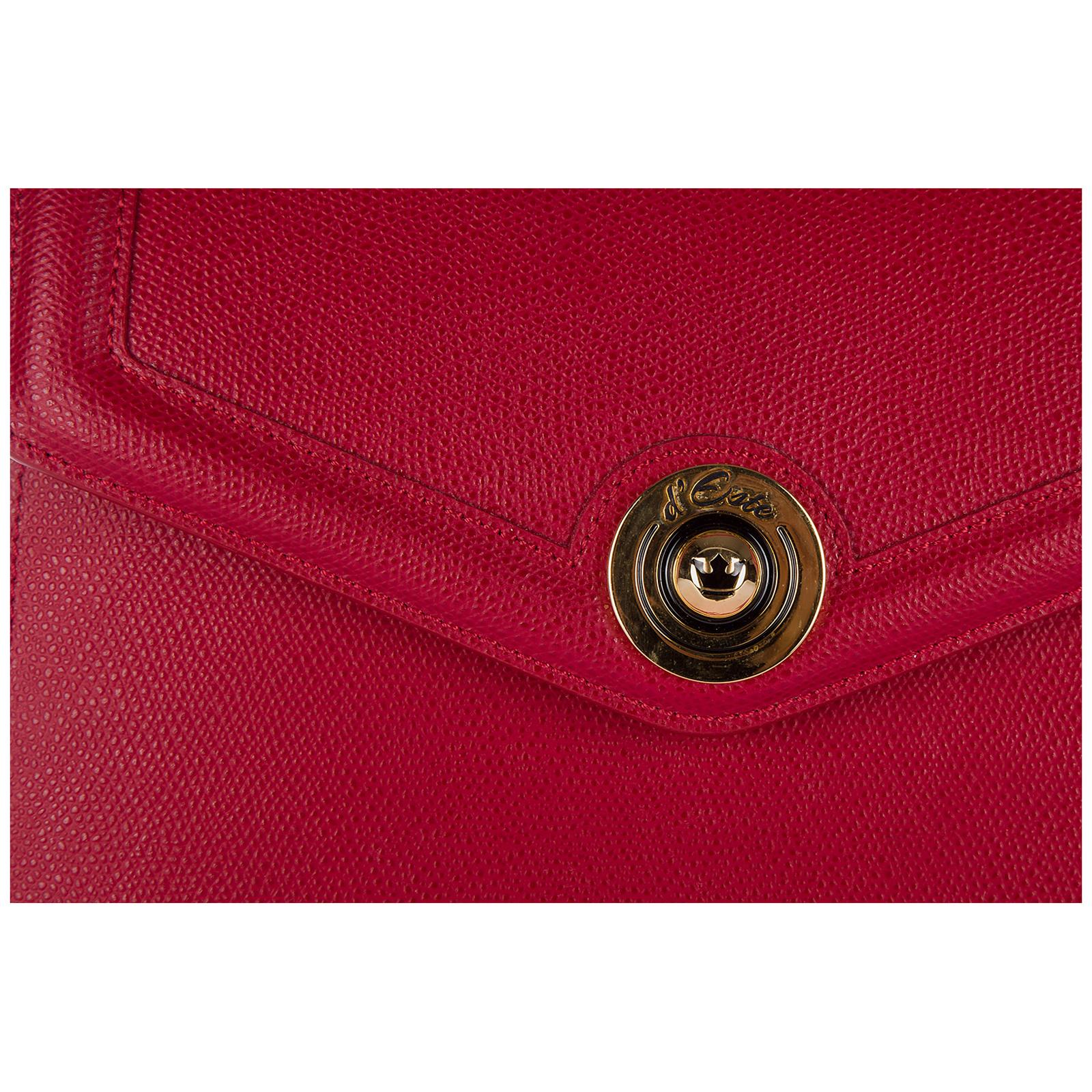 Women's leather handbag shopping bag purse monaco