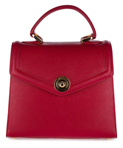 Handtasche d Este MONACO rosso scuro