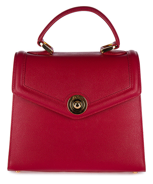 Handbags d'Este Monaco MONACO rosso scuro