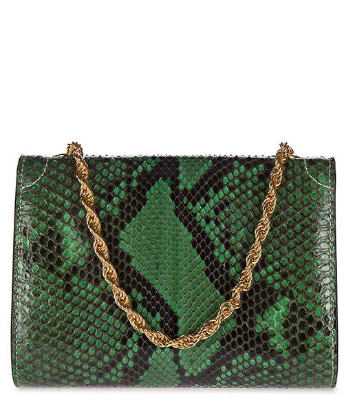 Pochette handtasche damen'tasche clutch mit schulterriemen  pitone secondary image