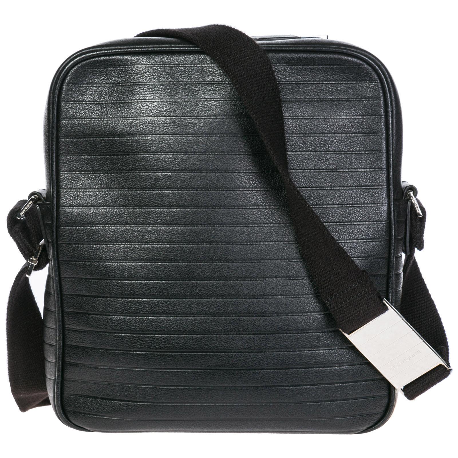 ... bag Men s leather cross-body messenger shoulder ... 57748756f2ac9