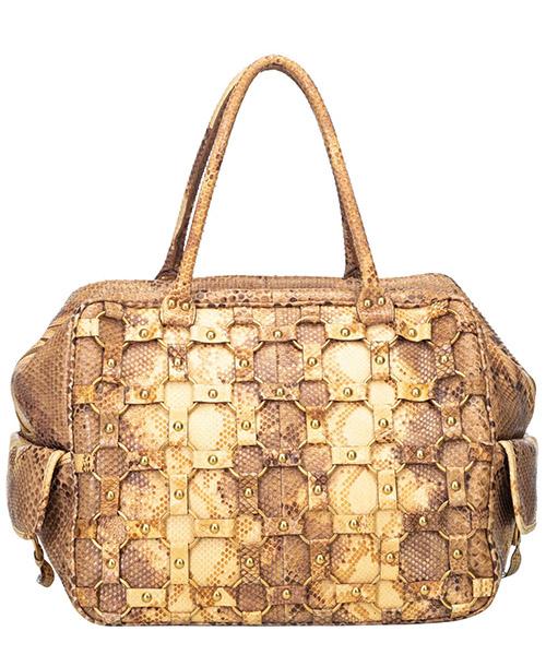 Bolso de mano para compras en piel mujer secondary image