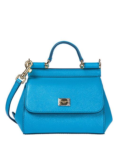 Handbag Dolce&Gabbana Sicily BB5999A1001 azzurro