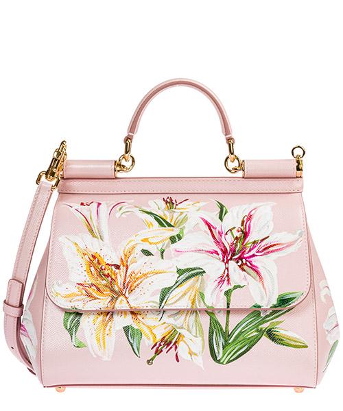 Borsa a mano Dolce&Gabbana sicily bb6002aa079hfkk8 rosa