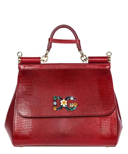 Borsa a mano Dolce&Gabbana Sicily BB6002AI74287515 rubino