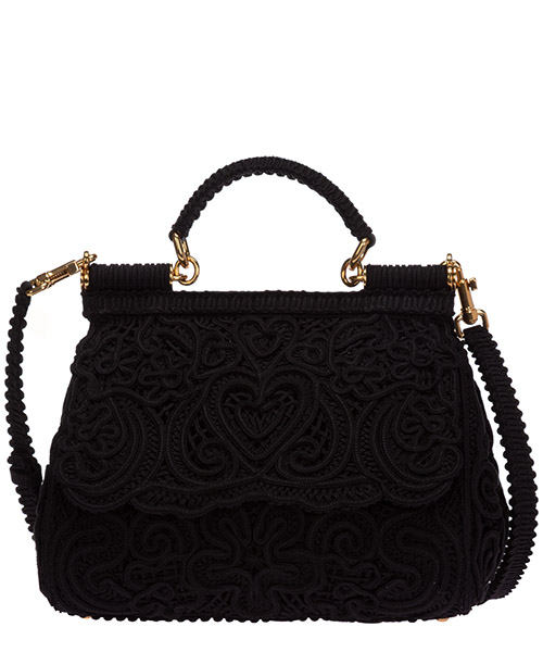 Handtaschen Dolce&Gabbana sicily bb6002aw71780999 nero