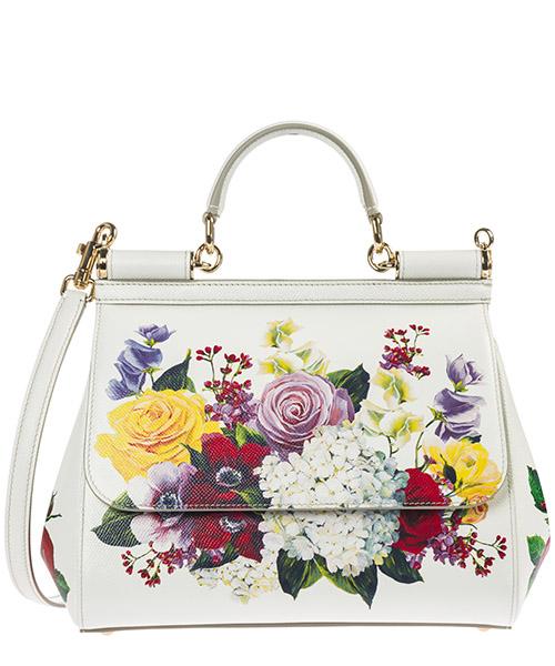 Handbag Dolce&Gabbana Sicily BB6002AZ533HAX46 bianco