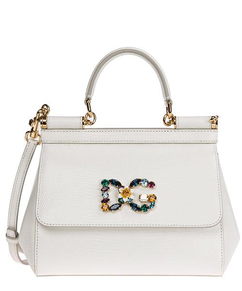 Borsa a mano Dolce&Gabbana Sicily BB6003AI74280002 bianco