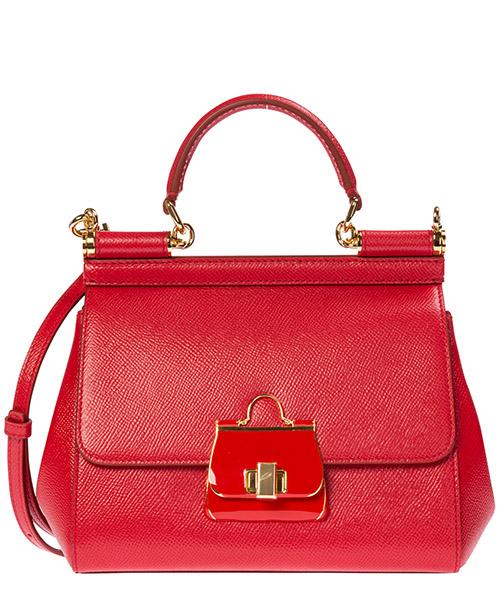 Bolsas de mano Dolce&Gabbana sicily bb6003ak32580303 rosso