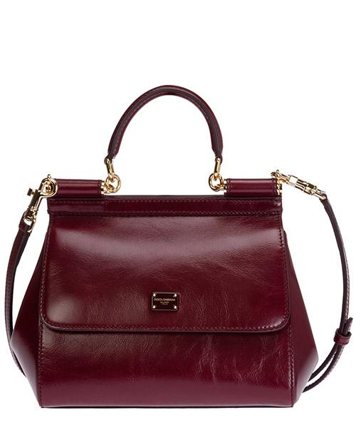 Handtaschen Dolce&Gabbana sicily bb6003aw55480308 bordeaux