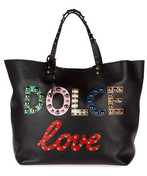 Shopping bag Dolce&Gabbana Beatrice BB6191AH09780999 nero