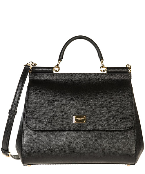 Shoulder bag Dolce&Gabbana Sicily BB6235A100180999 nero