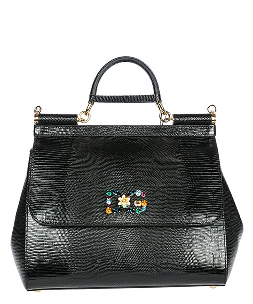 Borsa a mano Dolce&Gabbana Sicily BB6235AI74280999 nero