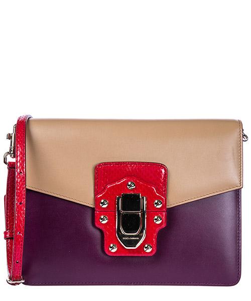 Schultertasche Dolce&Gabbana lucia bb6310ab8958r163 ghiaccio / mosto