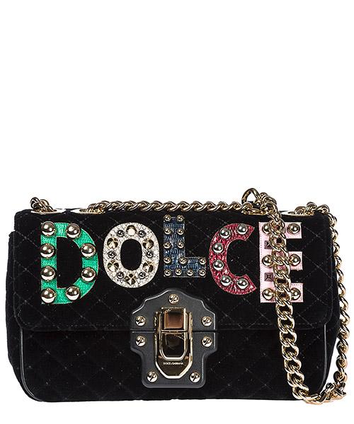 Shoulder bag Dolce&Gabbana Lucia BB6344AM27980999 nero
