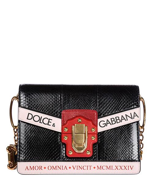 Borsa a spalla Dolce&Gabbana Lucia BB6350AH646HHF57 nero