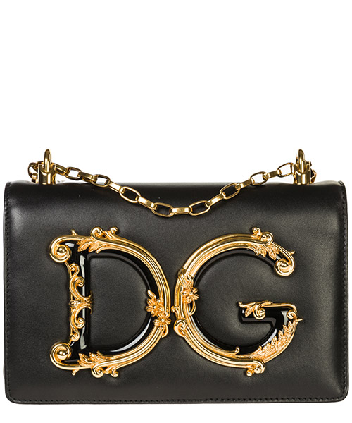 Women's leather shoulder bag dg girls