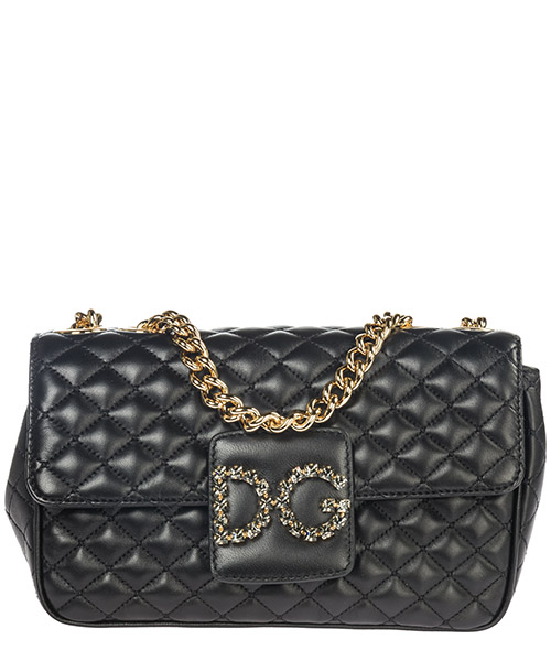 Borsa a spalla Dolce&Gabbana DG Millennials BB6580AU07080999 nero