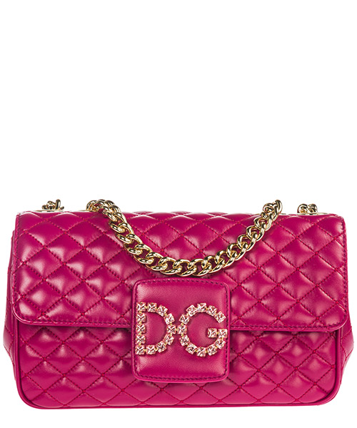 Shoulder bag Dolce&Gabbana DG Millennials BB6580AU0708H420 fucsia