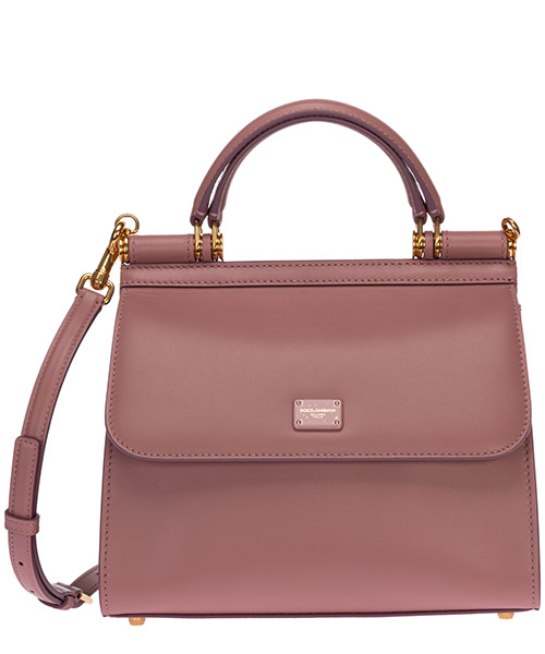Handtaschen Dolce&Gabbana sicily 58 bb6622av38580472 rosa polvere