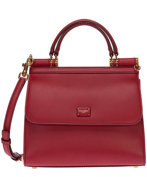 Sac à main Dolce&Gabbana sicily 58 BB6622AV38587124 rosso papavero